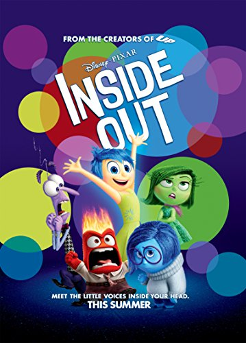 Inside Out - Movie Poster, Glossy Finish Thick: Joy, Fear, Anger, Disgust, Sadness by