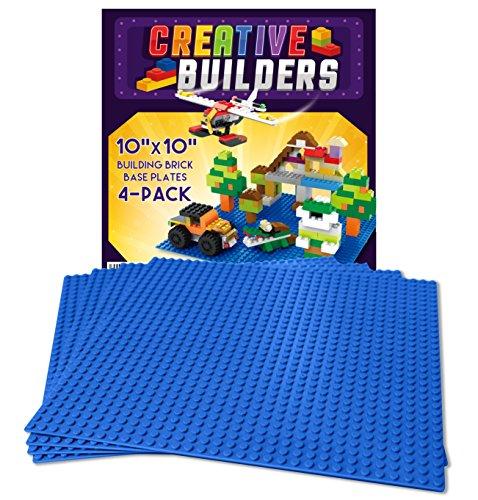 Self Adhesive Lego Compatible Baseplates - Peel and Stick Ba