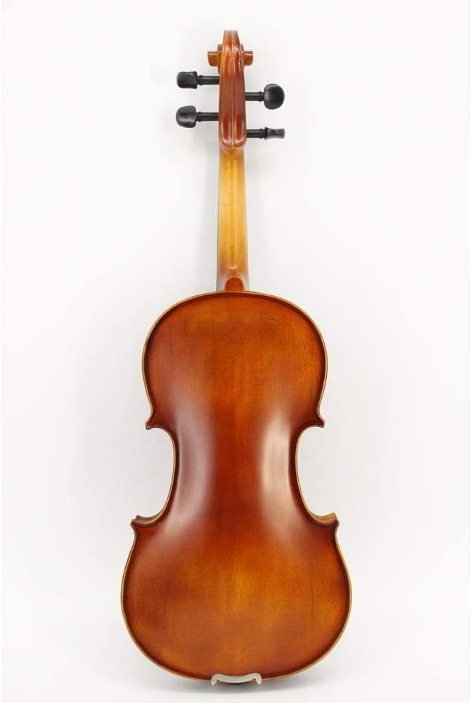 HVTKLN 手作り学生バイオリンバイオリンハイグレード炭素繊維プレートのヴィラを練習します HVTKLN (Color : Brown, Size : 3/4)