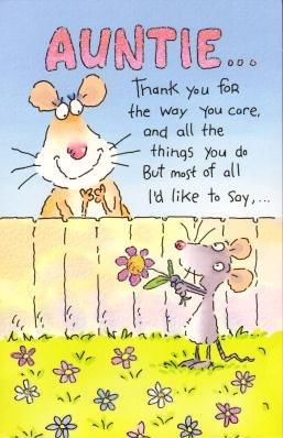 Amazon happy birthday auntie humour birthday greetings card happy birthday auntie humour birthday greetings card m4hsunfo
