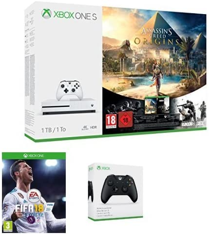 Xbox One S 1tb Console Assassin S Creed Origins Fifa 18