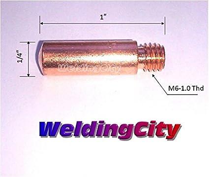 WeldingCity 10-pk MIG Welding Contact Tip 11-30 for Lincoln Tweco MIG Guns 100L Mini 0.030