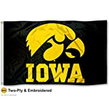 Iowa Hawkeyes Double-Sided 3x5 Flag
