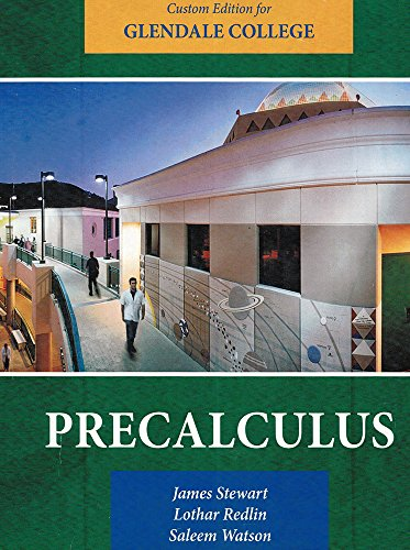 Precalculus Custom Edition for Glendale College
