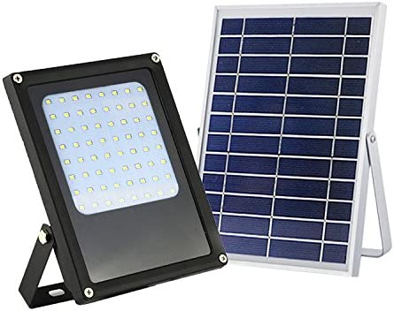 eLEDing Solar Super sale period limited Award Powered 5-Watt Black LED Finish Outdoor Integrated