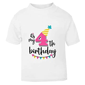 Its My 4th Fourth Birthday T Shirt