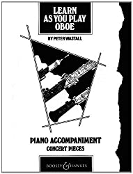 Learn as You Play Oboe: Piano Accompaniment