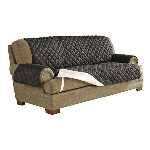 Serta Quilted Ultra Suede Waterproof Furniture Protector