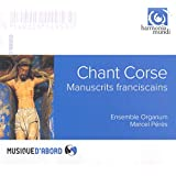 Chant Corse - Manuscrits franciscains