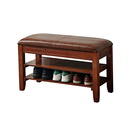 Tremendous Amazon Com Ycsd Faux Leather Ottoman Storage Bench With Ibusinesslaw Wood Chair Design Ideas Ibusinesslaworg