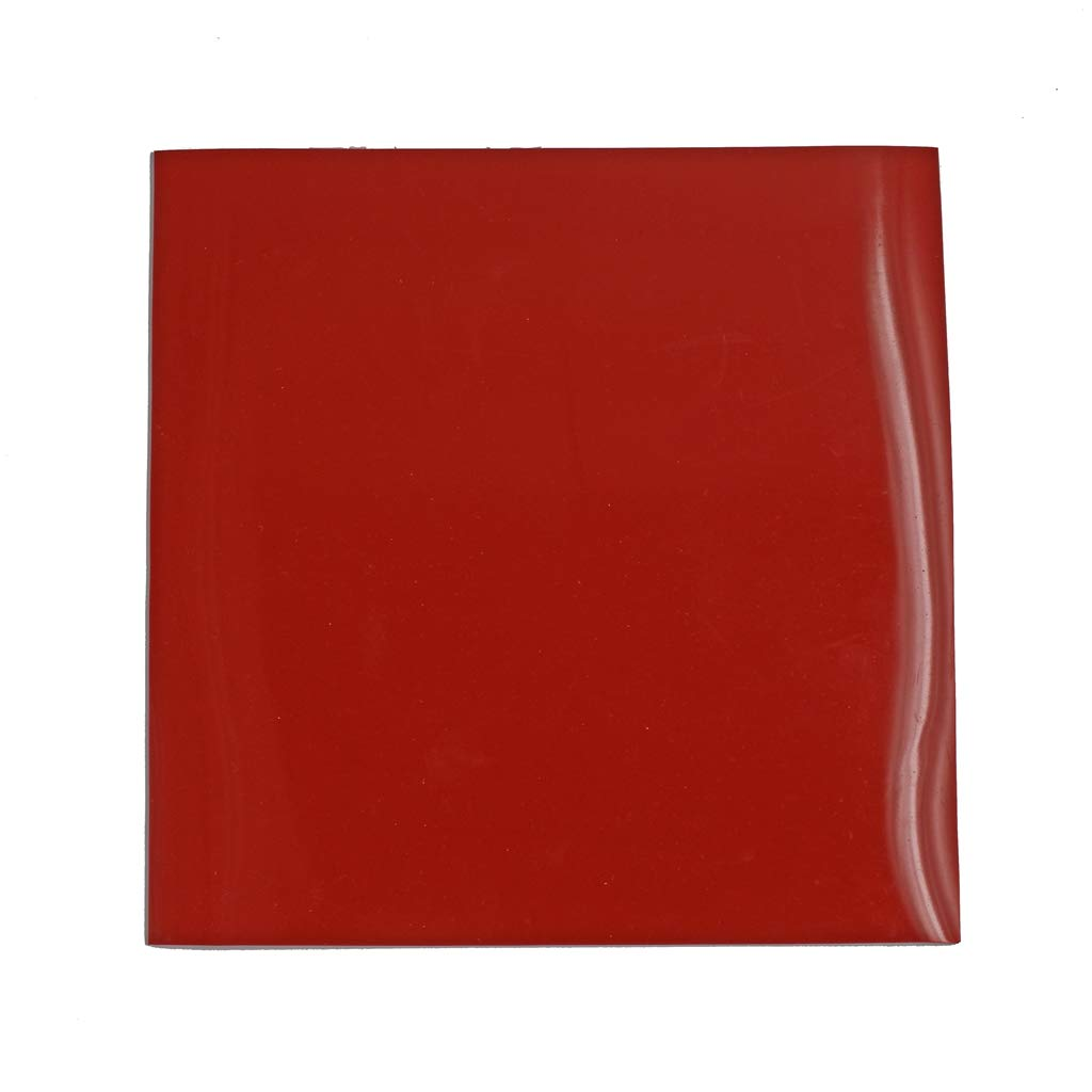"""Rubber Silicone Sheet Roll High Temp, Red 8x8"""", 1/8"""" Thickness"""
