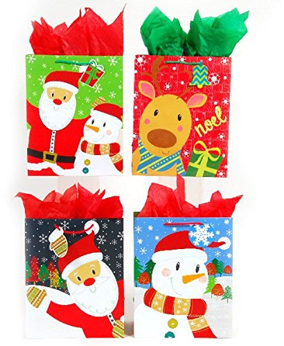 DDI 2127475 Square Large Jolly Faces On Matte Gift Bag - Case of 120