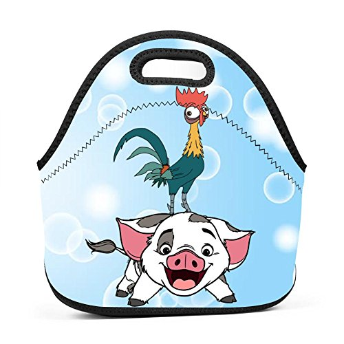 Neoprene Lunch Bag - Pets Pua Lunch Tote Bags for Women & Girls - Lunch Boxes for Kids & Adult Lunch (Sport Duffle Pet Carrier)
