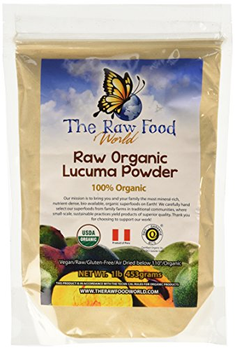 Certified Organic Raw Lucuma Powder 16oz