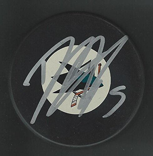 Dany Heatley Signed Puck - Autographed NHL Pucks