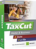 Software : H&R Block TaxCut 2007 Home & Business + State + e-file [OLD VERSION]