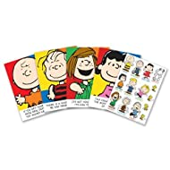 Eureka Peanuts Characters and Motivational Phrases Bulletin Board Sets