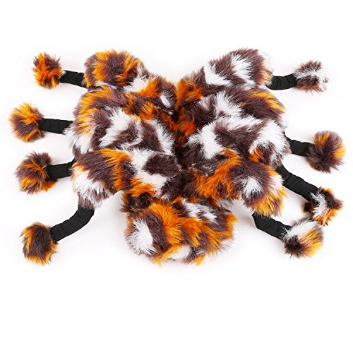 Dog Spider Suit (Pet Dog Spider Costume Dogs Cats Cute Soft Warm Jumpsuit Pet Pajamas Clothes)