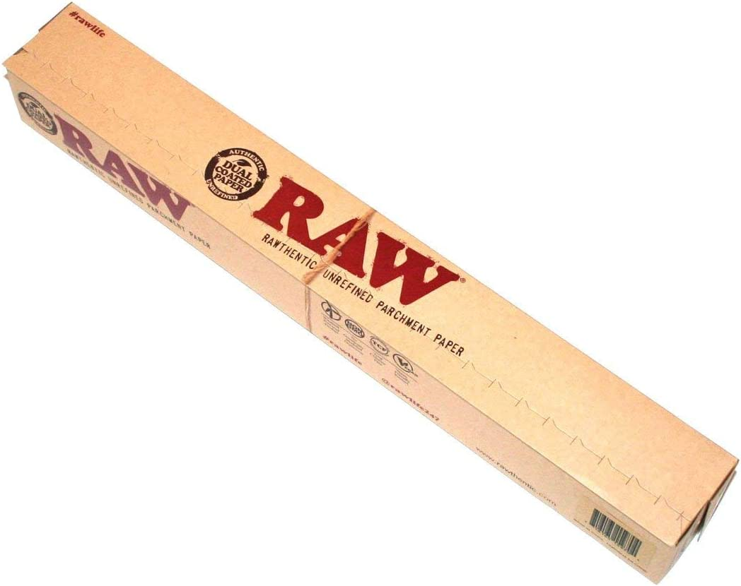 Rawthentic Raw Unrefined Parchment Baking Grease Proof Wax Paper Roll
