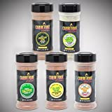 Caribeque Seasoning & Rub Company (5 Flavor Combo Pack )