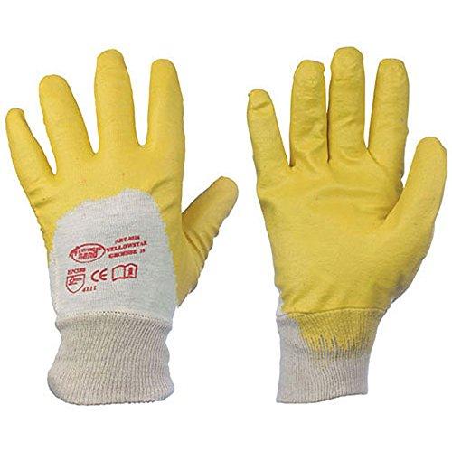 stronghand Nitril YELLOW Nitril-Handschuhe (Karton á 144 Paar) - Größe: 10