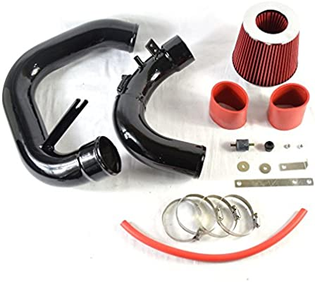 "2.75/"" BLACK Cold Air Intake Induction Kit+Filter For 04-09 Mazda3 3 2.0L//2.3L L4"