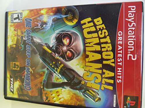 Destroy All Humans - PlayStation 2 (Best Destroy All Humans Game)