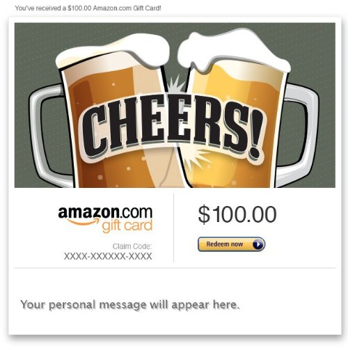 Amazon eGift Card - Cheers!