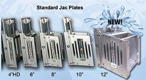 Jackplate-Flat 6In 300Hp 625Lb