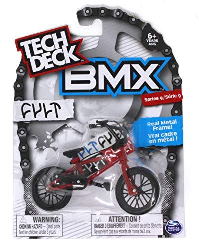 Tech Deck BMX Series 9 Cult Red Finger Bike - 20103165
