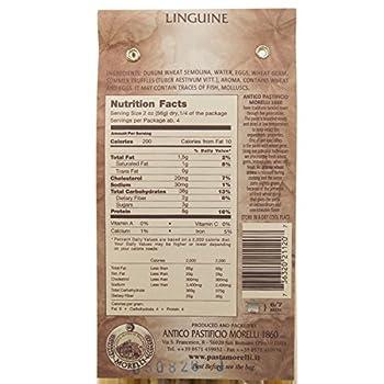 Morelli Italian Pasta Truffle Linguine With Wheat Germ - Linguine Tartufo, 8.8oz (Pack Of 2) 1