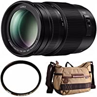 PANASONIC LUMIX H-FSA100300 G II VARIO LENS 100-300MM MIRRORLESS MICRO FOUR THIRDS Shoulder Bag Bundle