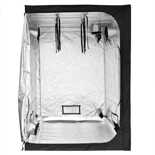 """51TgRw6dc0L - Hydroponics Reflective Mylar Grow Tent 60""""x60""""x78"""""""