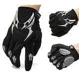 KUNGKEN Gel Pad Bike Gloves Shockproof Sports Gloves Breathable Full Finger Cycling Gloves Armored