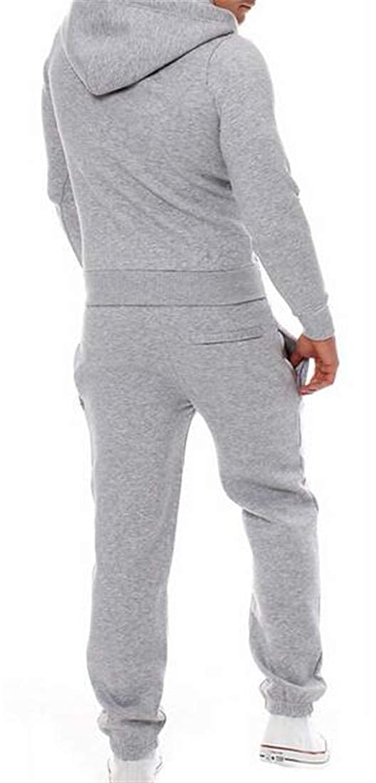 Sweatwater Mens Casual Activewear Sports Sweatpants Hoodie Sweatsuit Tracksuit