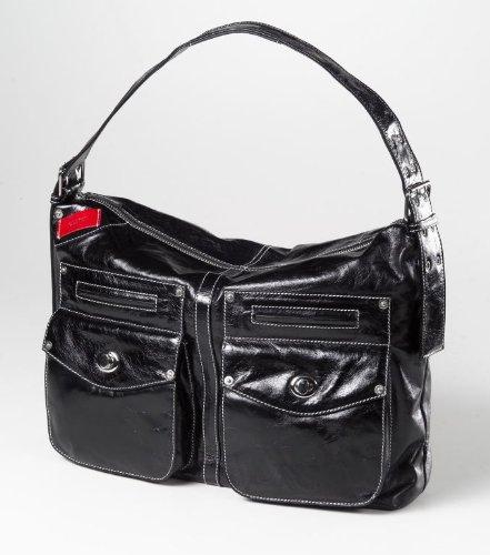 Clava Kiki Messenger Sling/Shoulder Bag, Glazed White