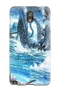 Premium [IwiwwlE1026bopSY]kraken Case For Galaxy Note 3- Eco-friendly Packaging