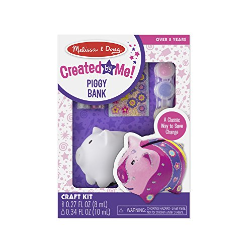 - Melissa & Doug Created by Me! Piggy Bank Decorate-Your-Own Craft Kit