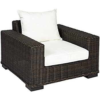 Best Choice Products Premium Patio Wicker Oversized Club Armchair