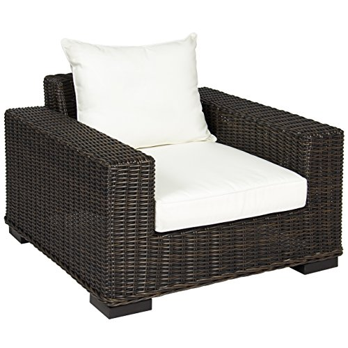 Best Choice Products Premium Patio Wicker Oversized Club Armchair from Best Choice Products
