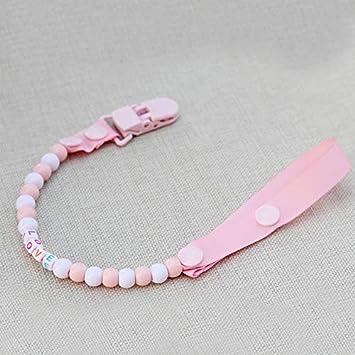 Amazon.com : VT BigHome DIY-Baby Pacifier Clip Pearls Clip ...