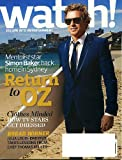 Watch June 2010 Simon Baker/The Mentalist on Cover (Return to Oz), Julia Louis-Dreyfus Takes Lessons from Chef Thomas Keller, New 90210, The Young and the Restless