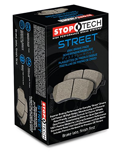 StopTech 308.11580 Street Brake Pads 5 Pack