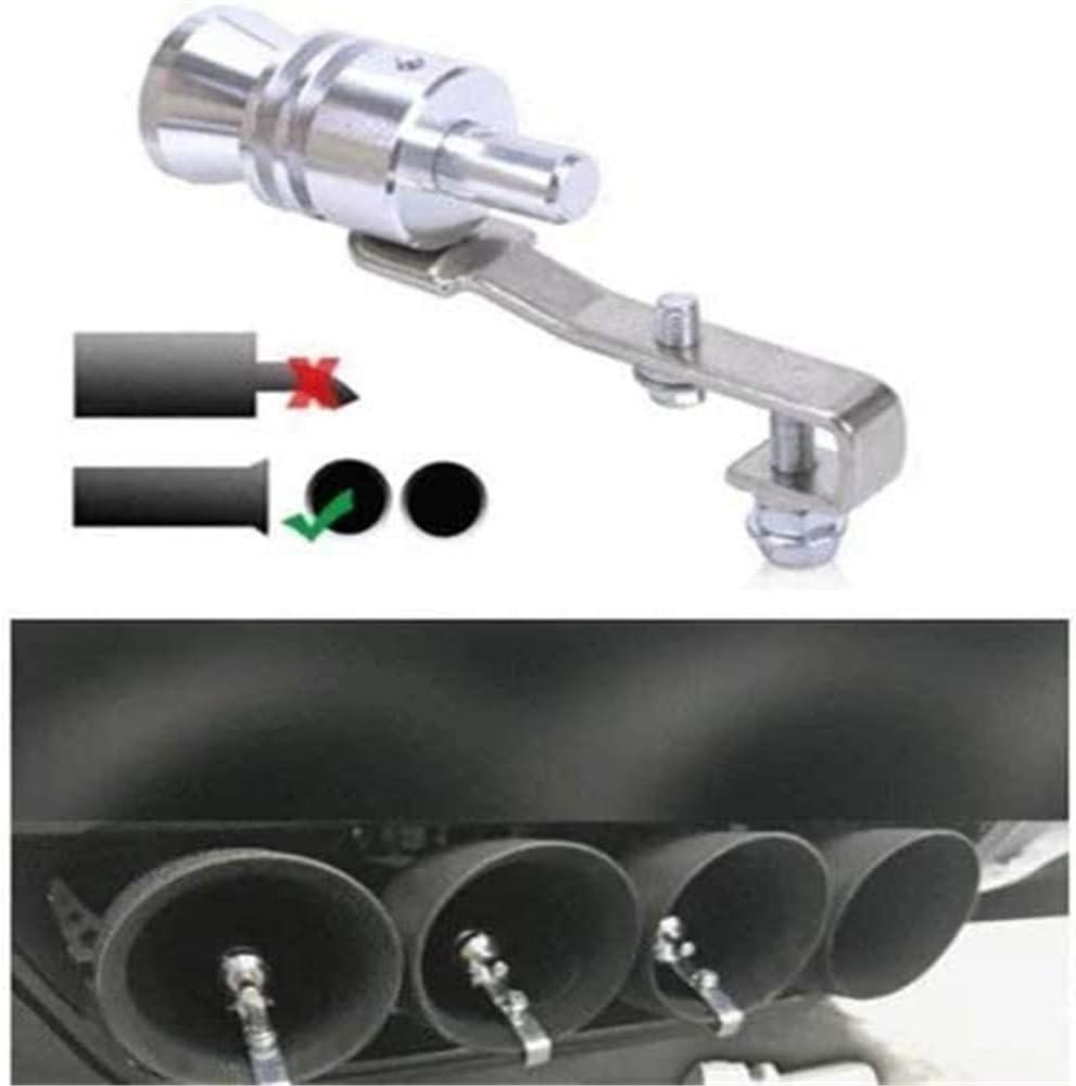 Auspuff-Turbo-Pfeifenrohr Schalld/äMpfer Bov Abblaseventil Bbye Mehrzweck-Auto-Turbo-Pfeifen