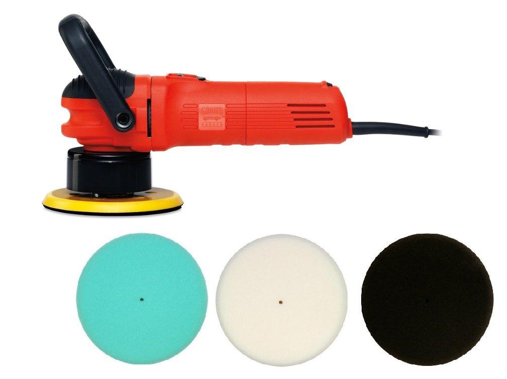 Griot's Garage 6'' Random Orbital Long Cord with Foam Pads Bundle Kit