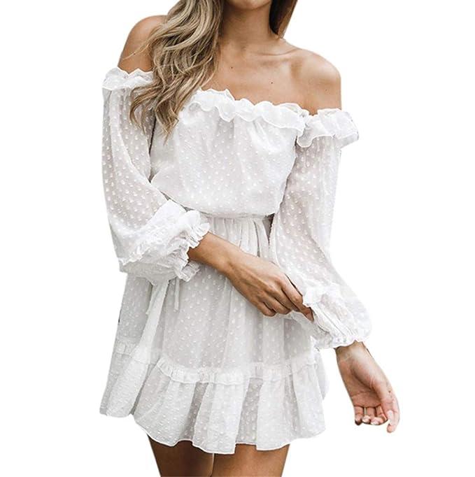 1e202911f Vestido Corto Casual para Mujer Primavera Verano 2019