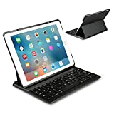Ipad Air 2 Keyboard Cover - Inateck Ultra-Slim Wireless Bluetooth Keyboard Case with Auto Wake / Sleep Function and Multi-Angle Stand for Apple iPad Air 2