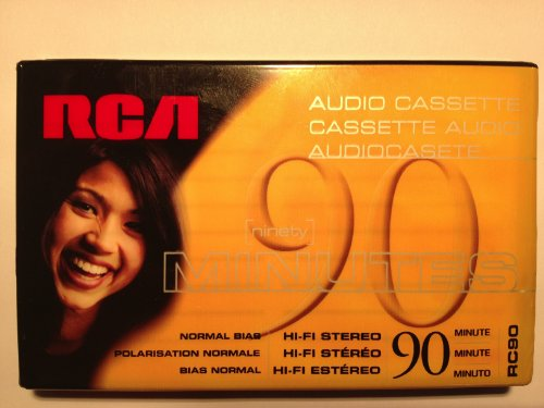 RCA 90 Minute Cassette Tape