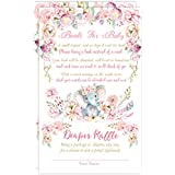 Elephant Book Request Diaper Raffle Card, Elephant Book...