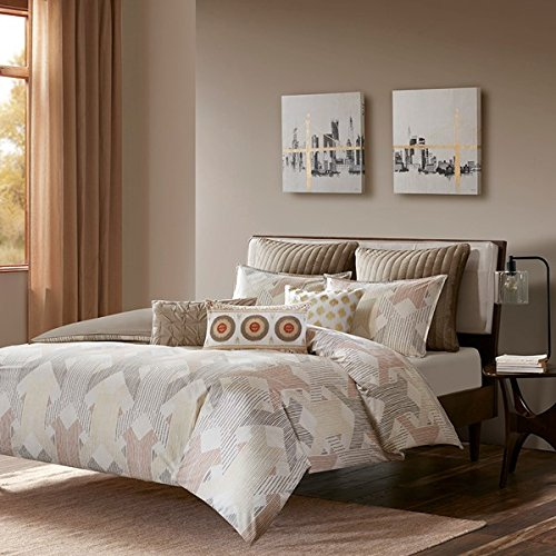 Ink+Ivy 3 Piece Comforter Mini Set King/Cal King/Spice/Gold